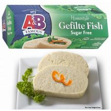 A&B Gefilte Fish - Sugar Free