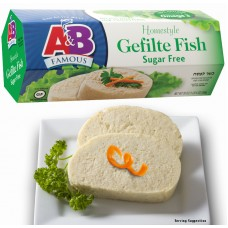 A&B Gefilte Fish - Sugar Free Gluten Free Kosher for Passover