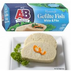 A&B Gefilte Fish - White & Pike Gluten Free